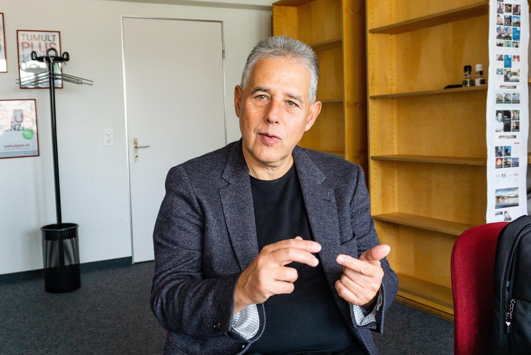 Der Luzerner Adrian Schmid ist seit zehn Jahren Geschäftsführer der Schweizer Heimatschutzes.