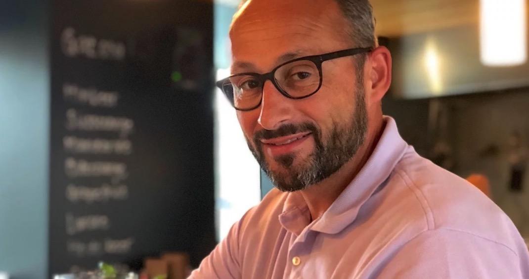 CEO Nick Christen stand als Sportler im Schatten von Goran Perkovac.