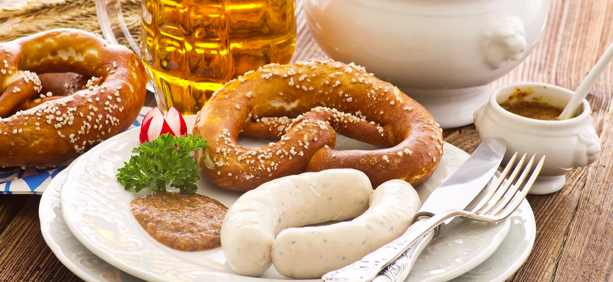 Brezn, Weisswurst und Bier – wer kann dem schon widerstehen?
