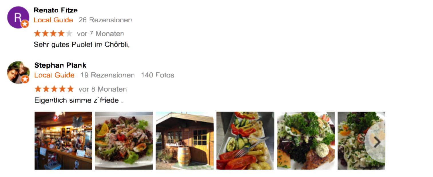 Den Google-Usern scheint es zu schmecken