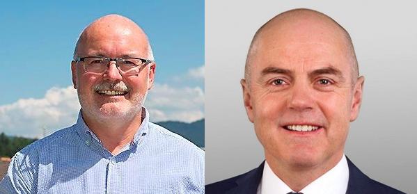 Herbert Keiser (parteilos) und Andreas Etter (CVP) möchten ins Gemeindepräsidium.