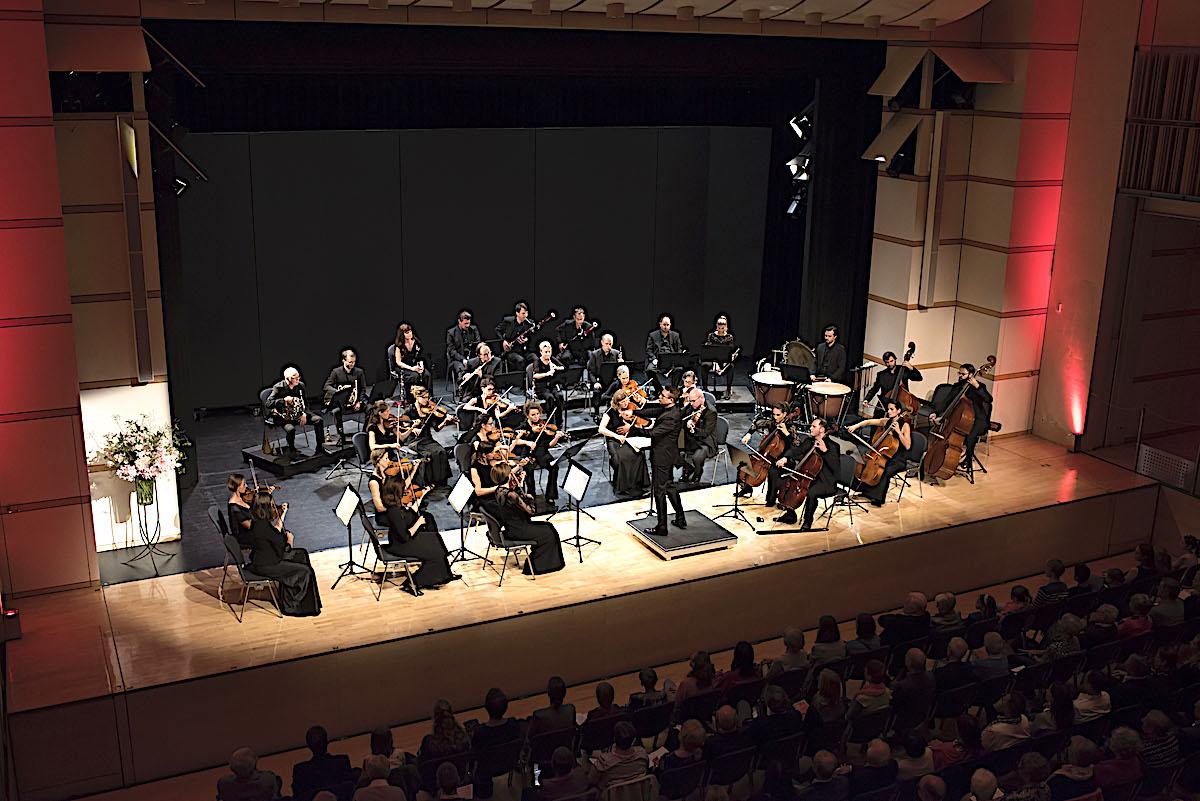 Schöne Konzertatmosphäre im Chamer Lorzensaal mit der Zuger Sinfonietta.
