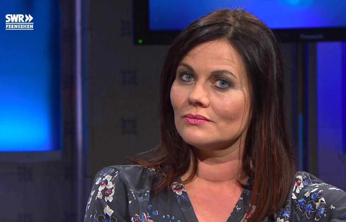 Jolanda Spiess-Hegglin zu Gast im «Nachtcafé» des Südwestdeutschen Rundfunks.