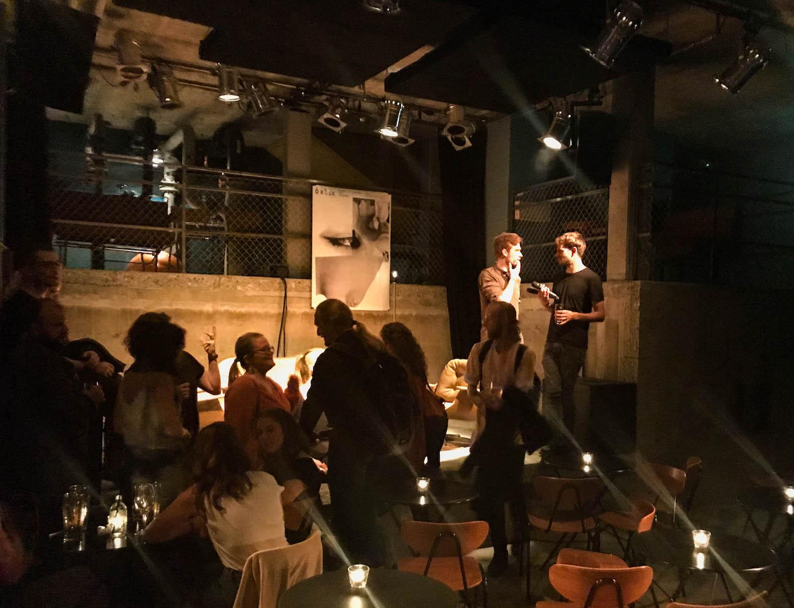Der Keller des Neubads wurde fit gemacht – für Partys, Lesungen & Co.