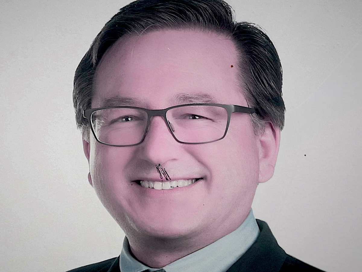 Max Colpi von der SVP kandidiert für den Baarer Gemeinderat.