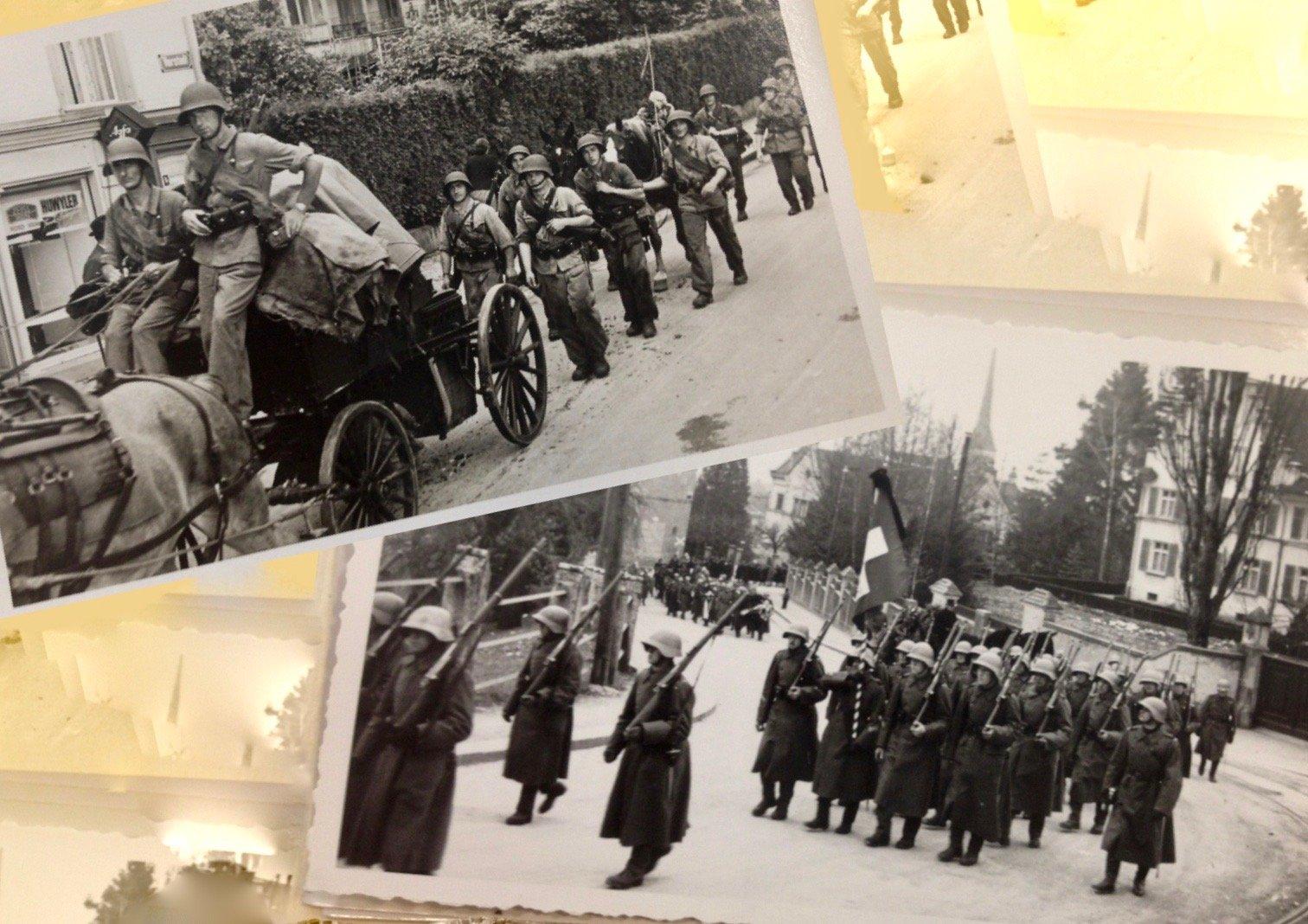 Grenadierkompanie in Zug, 1944/45