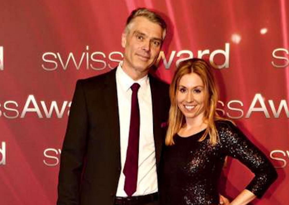 Hübsche Boulevard-Geschichte: Sara Bachmann mit Sandro Brotz.
