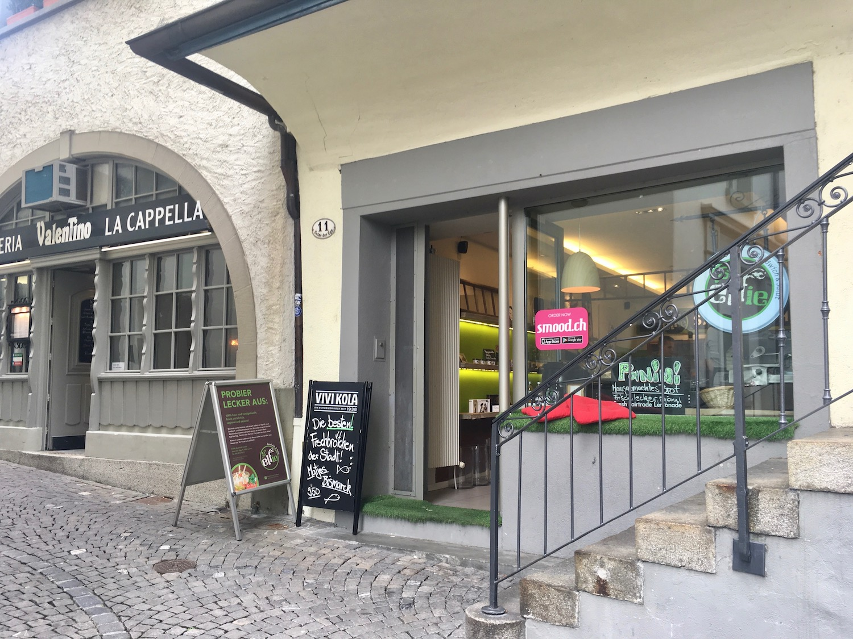 Das «S'elfie» am Metzgerrainle in der Luzerner Altstadt.