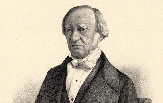 Georg Joseph Sidler um 1848,gezeichnet von Johann Conrad Bollter.