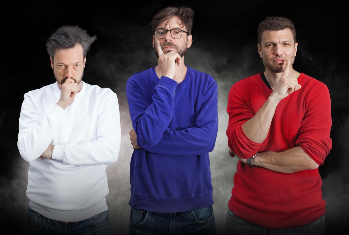 Die Luzerner drei Fragezeichen (von links): Patric Gehrig, Samuel Zumbühl und Hans-Caspar Gattiker.