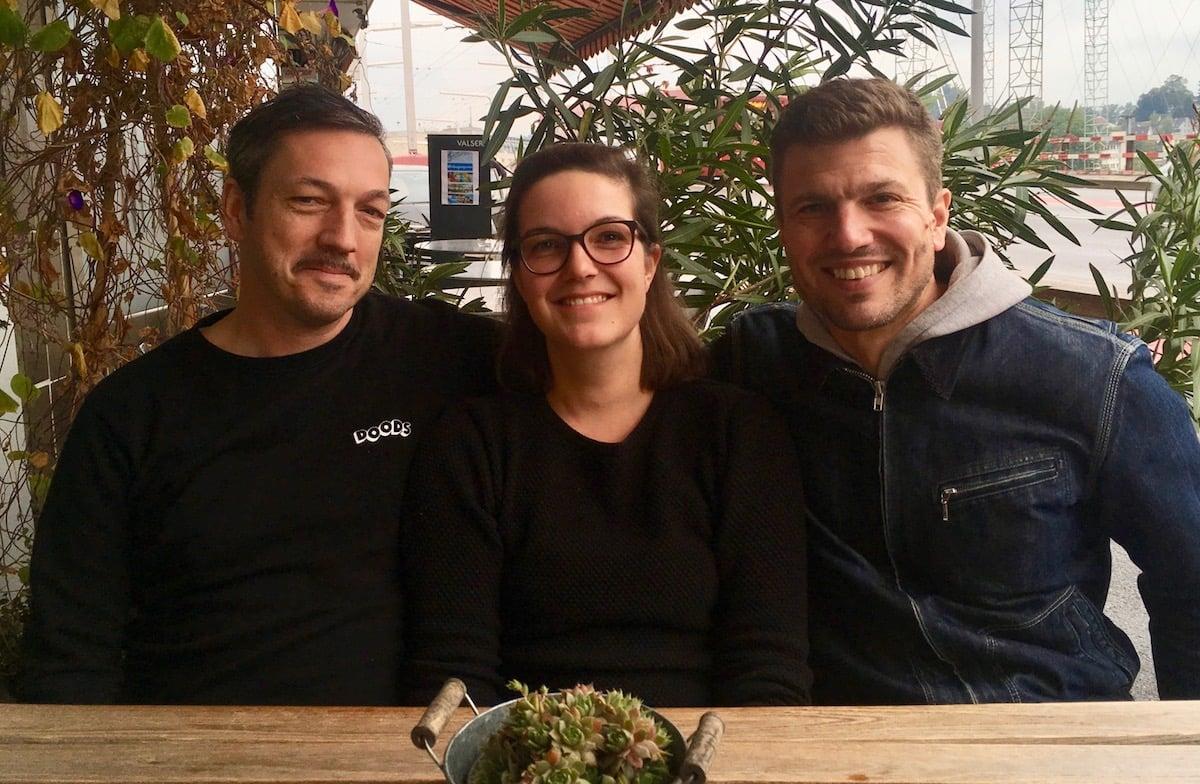 Von links: Patric Gehrig, Carmen Bach und Hans-Caspar Gattiker.