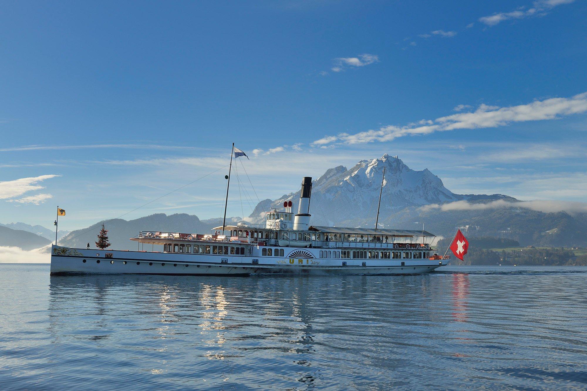 SGV Festtagsfahrten mit dem Dampfschiff