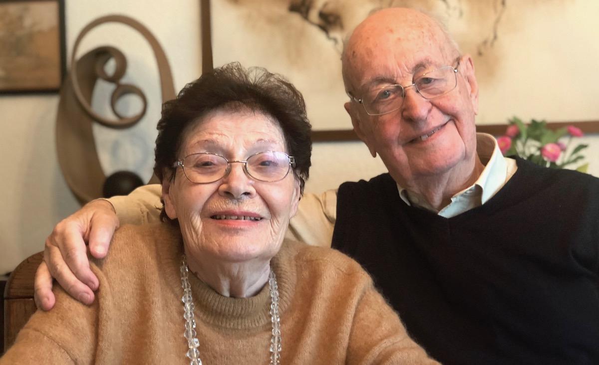 Seit 60 Jahren ein Paar: Fridolin Vonwyl aus Emmen und Mirella Fiabane aus Belluno.