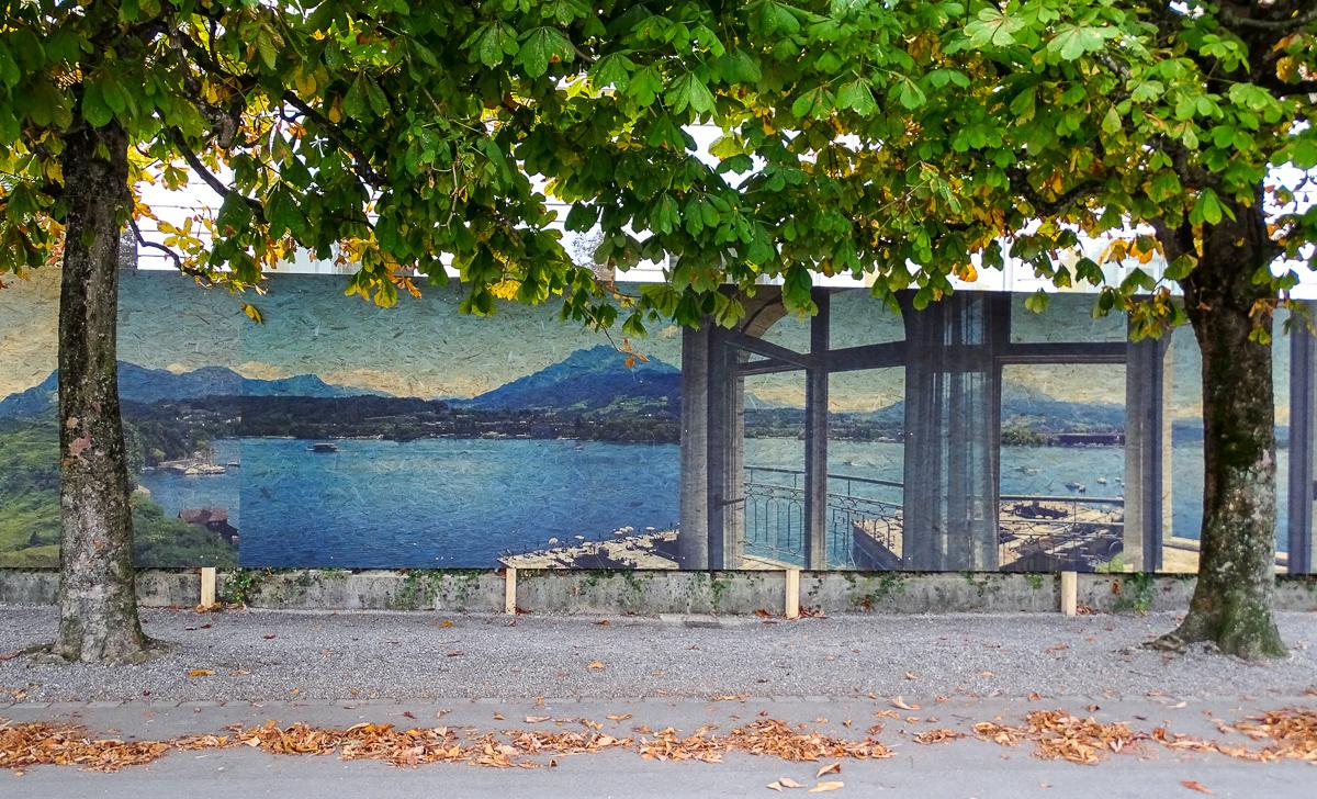 Inspiriert wurde das Künstler-Duo von chinesischen Landschaftsmalereien.