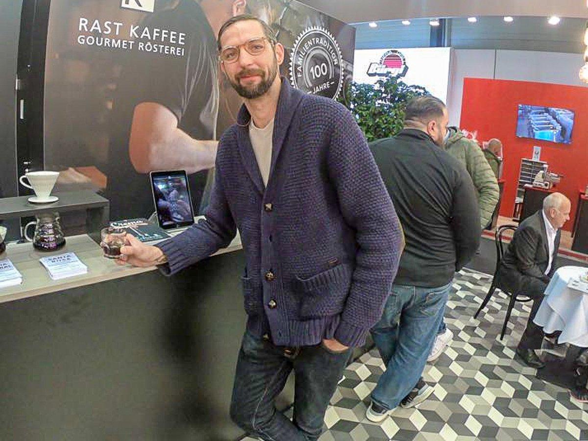 Milde und fruchtige Filterkaffees haben es Kaffeejunkie Moritz Stiefel angetan.