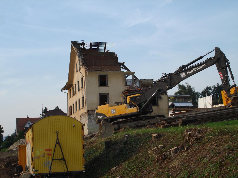 Der Abriss des Hauses erfolgte 2010.