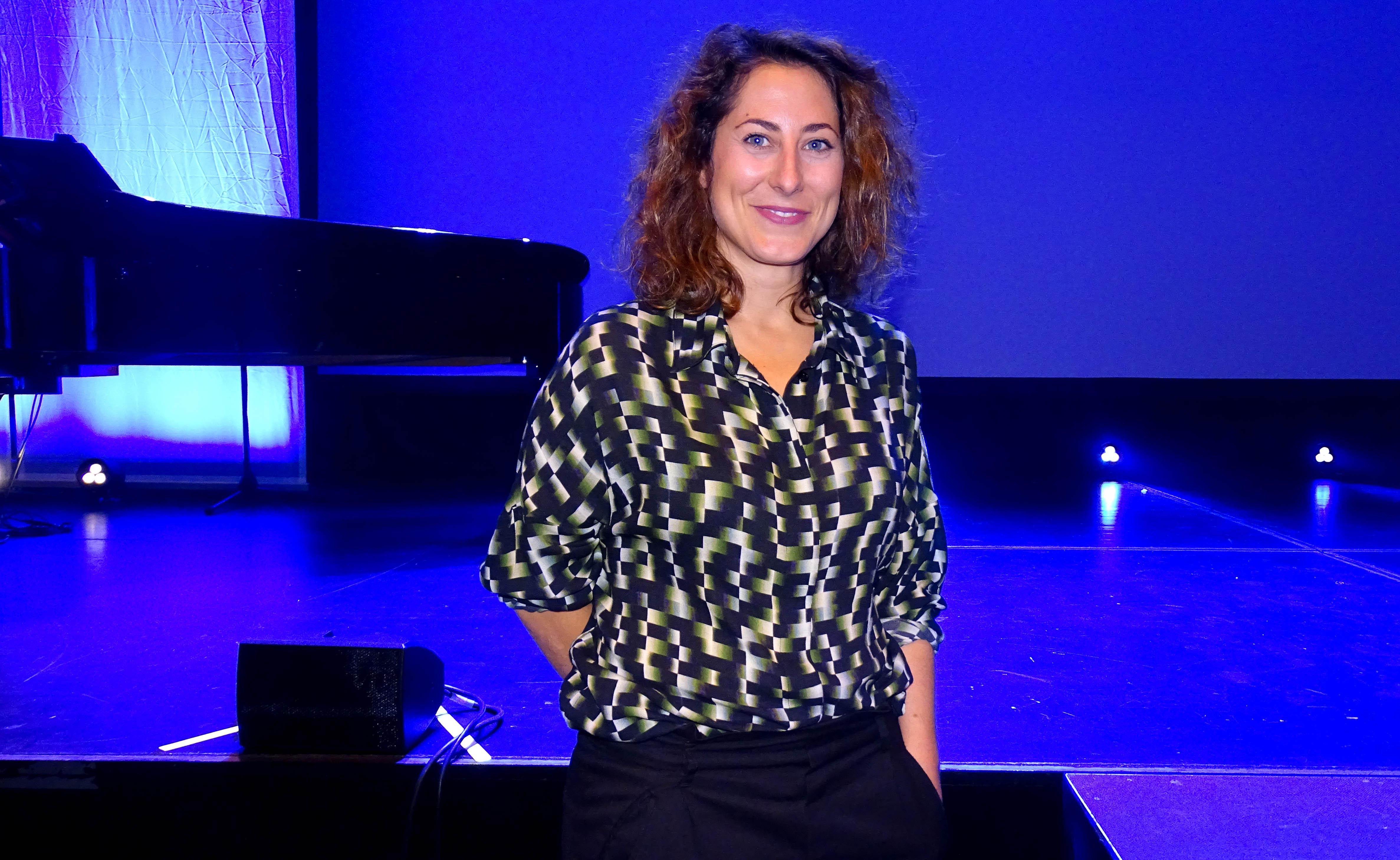 Die Textildesignerin Emanuela Zambon.
