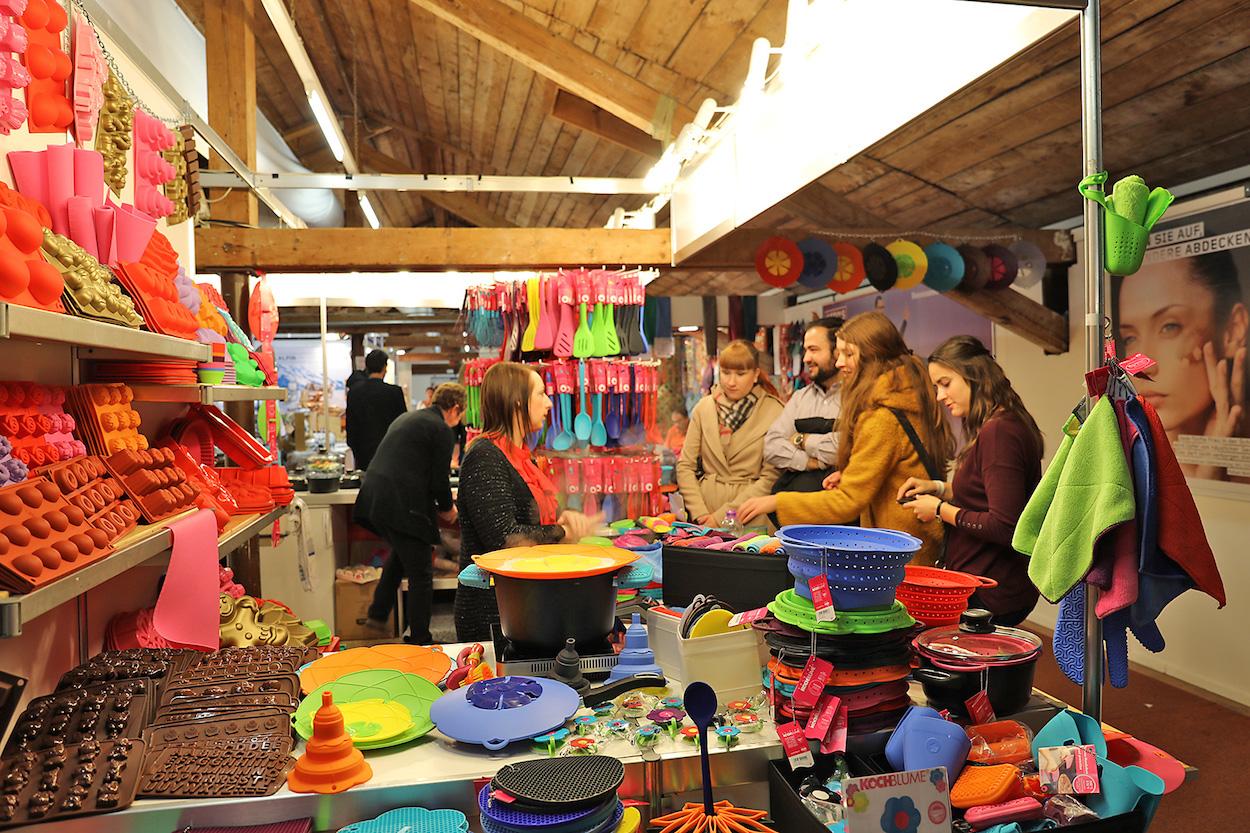 400 Aussteller präsentierten an der Zuger Messe ihre Produkte.