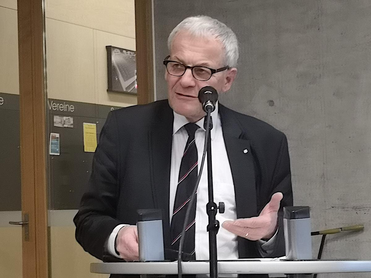 Ausgewiesener Rechtsexperte: Kurt Fluri, Stadtpräsident von Solothurn und FDP-Redner bei der CVP-Delegiertenversammlung.
