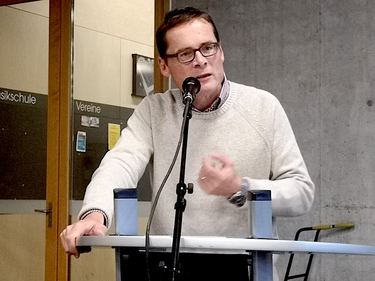 Immer leidenschaftlich: Roger Köppel, SVP-Nationalrat.