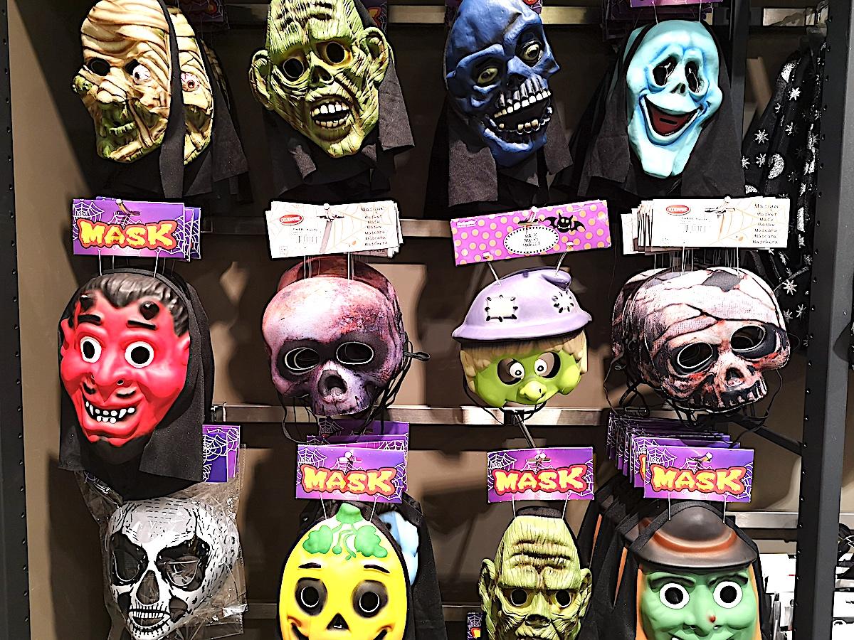 Da ist für jedes Gesicht die wahre Maske im Angebot.