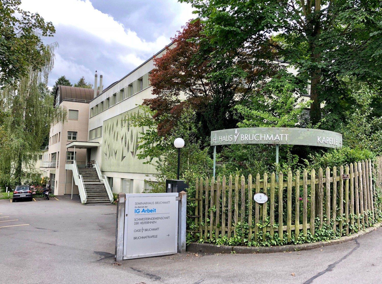 Das Seminarhaus Bruchmatt: Bald wird hier ein neues Altersheim gebaut.