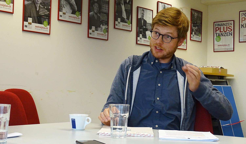 «Wie der Stadtrat vorgeht, ist für mich absolut unverständlich»: Grünen-Politiker Christian Hochstrasser.