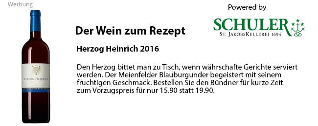 Herzog Heinrich 2016: Hier bestellen!