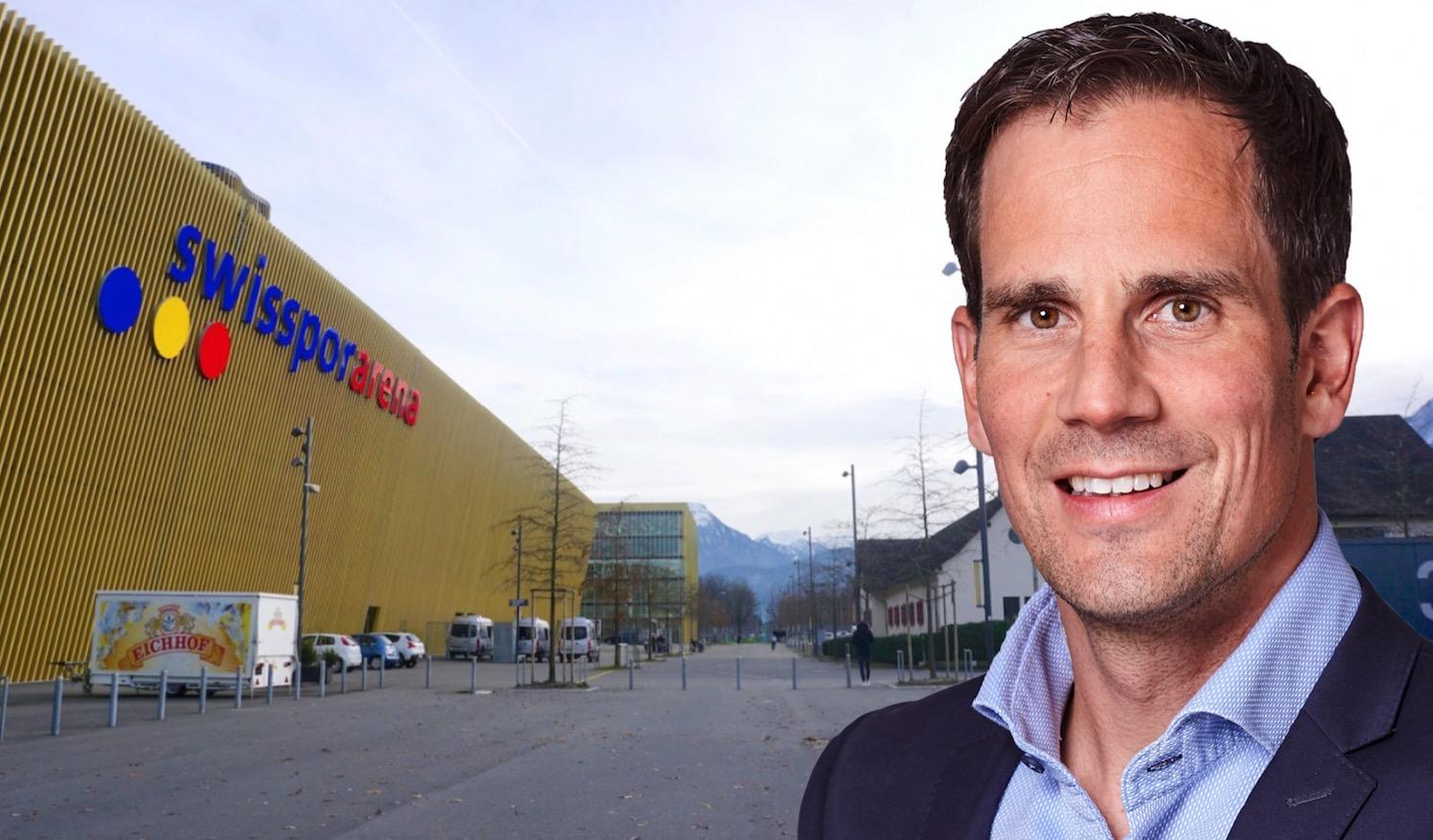 Lukas Troxler hat künftig in der Swissporarena das Sagen.