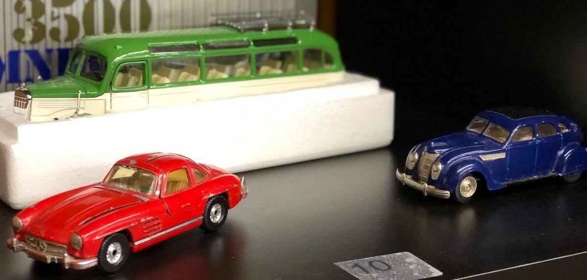 Klein aber fein: endlich mal einen roten Mercedes-Oldtimer besitzen.