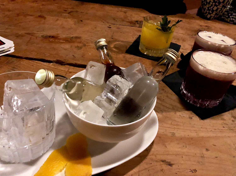 Zum selber mixen: Im Kaspar gibt's eine «Liquid Kitchen».