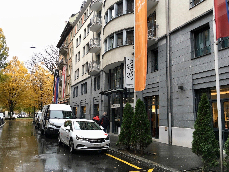 Das Hotel Continental Park an der Luzerner Murbacherstrasse.