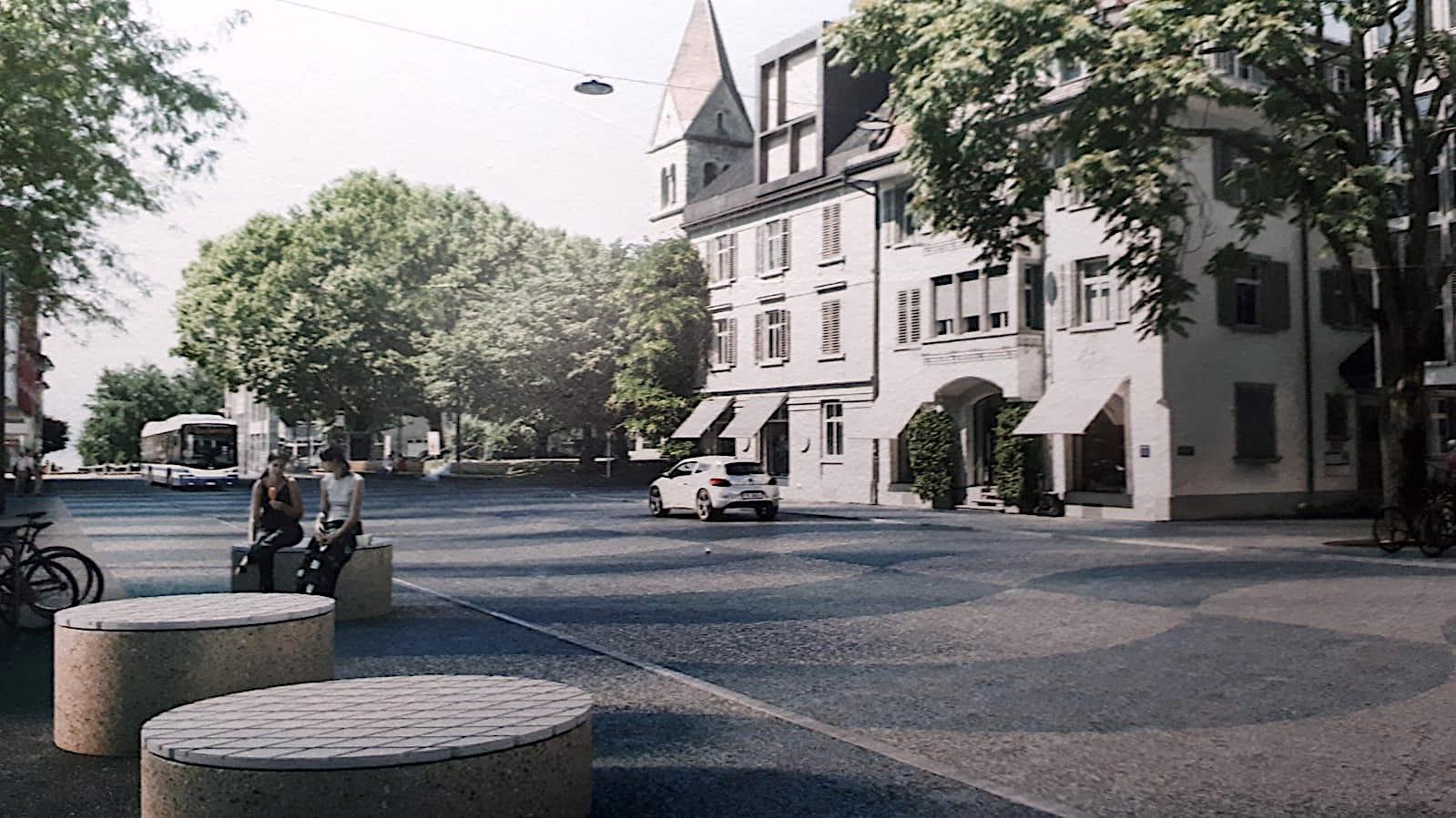 So könnte die umgestaltete Alpenstrasse aussehen. Dieses Projekt kam indes nicht in die Kränze.