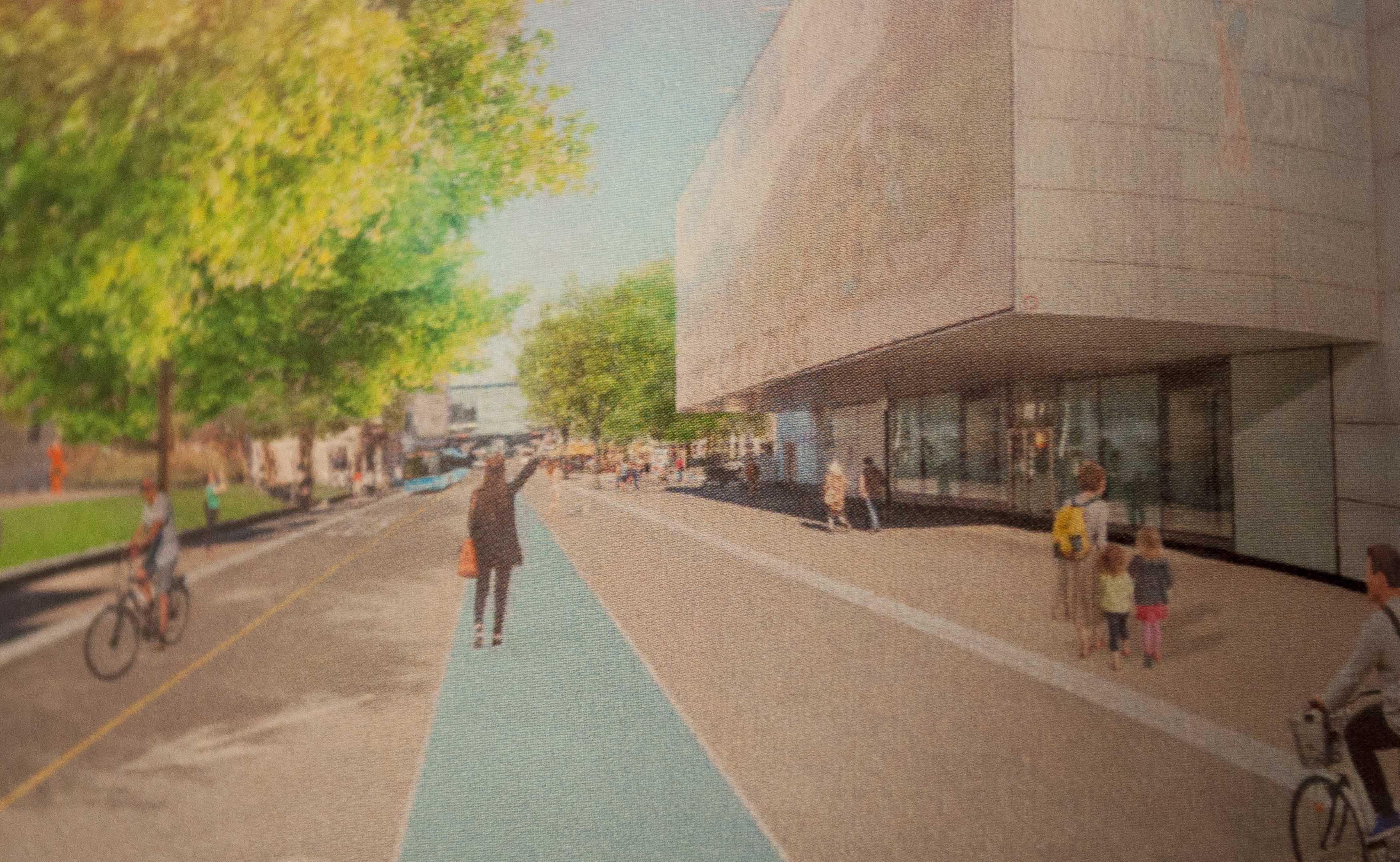 Drittplatziertes Projekt «Walk the Line» der Luzerner Knoepflipartner Landschaftsarchitekten.