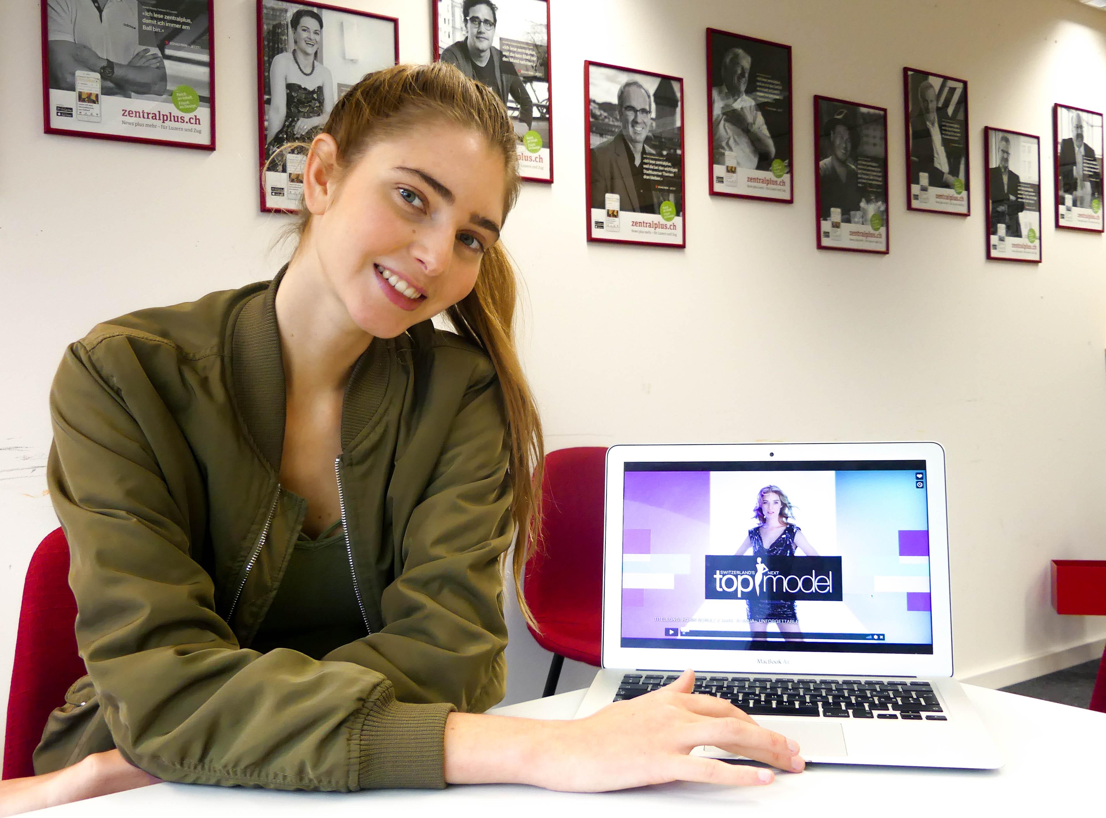 Auch für Helena Fritz ist der Luzerner Kandidat Sandro Weder bei «Switzerland's next Topmodel» der Favorit.