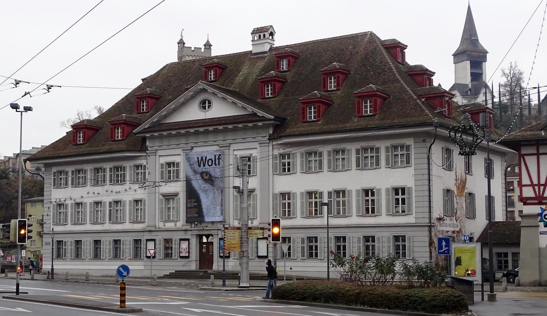 Das Natur-Museum kommt als neuen Zentral-Standort für das neue Museum in Frage.