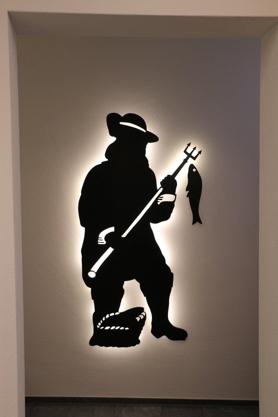 Bliggenstorfer hat das alte Symbol der Fischerstube wiederbelebt.