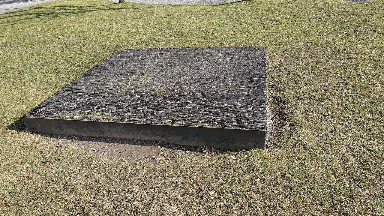 So sieht es aus, das eher unbekannte Monument.