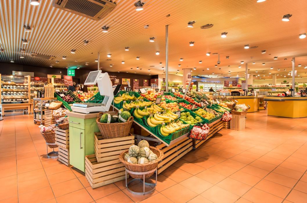 So sieht der Laden der Migros in Zürich Höngg aus.