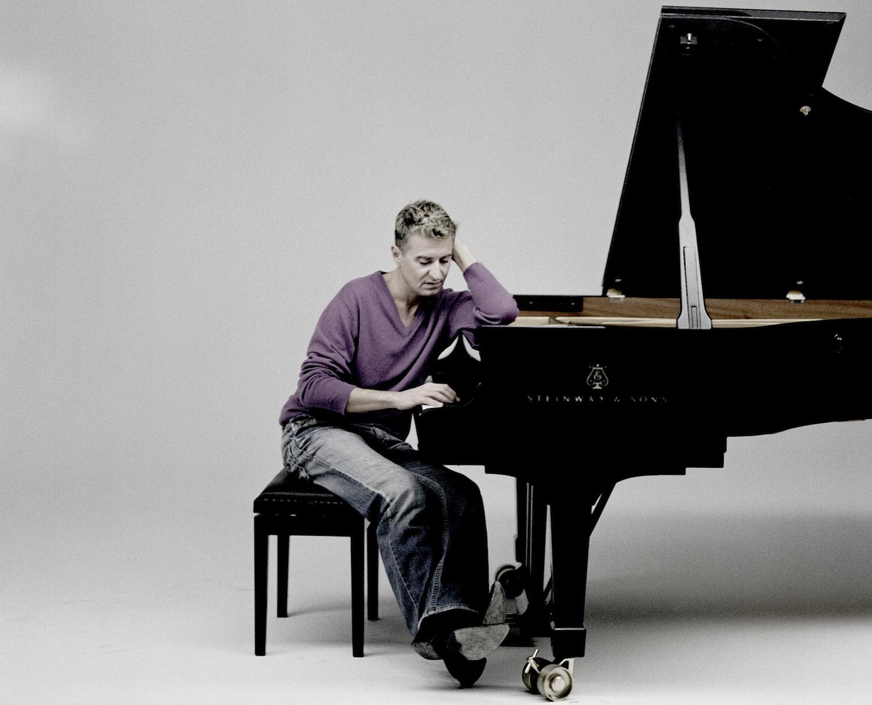 Er hat bei der Auswahl des Flügels geholfen: Star-Pianist Yves Thibaudet.