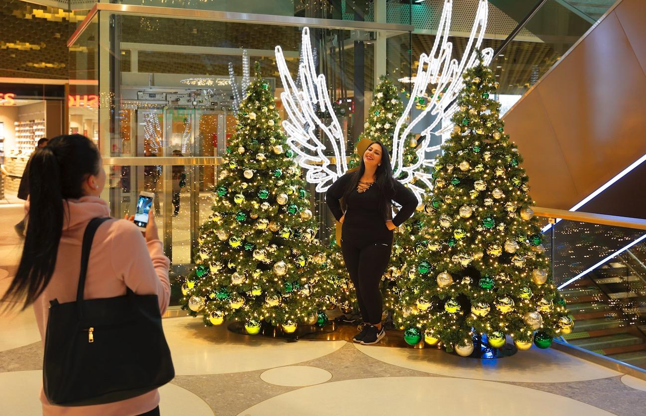 Für die Kunden hält die Mall in der Weihnachtszeit viele Überraschungen bereit.