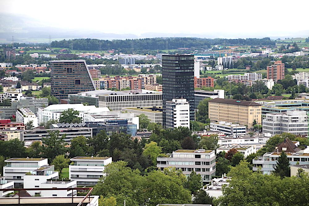 Die Skyline von Zug: «Zug war noch nie eine linke Stadt», sagt SP-Politiker Urs Bertschi.