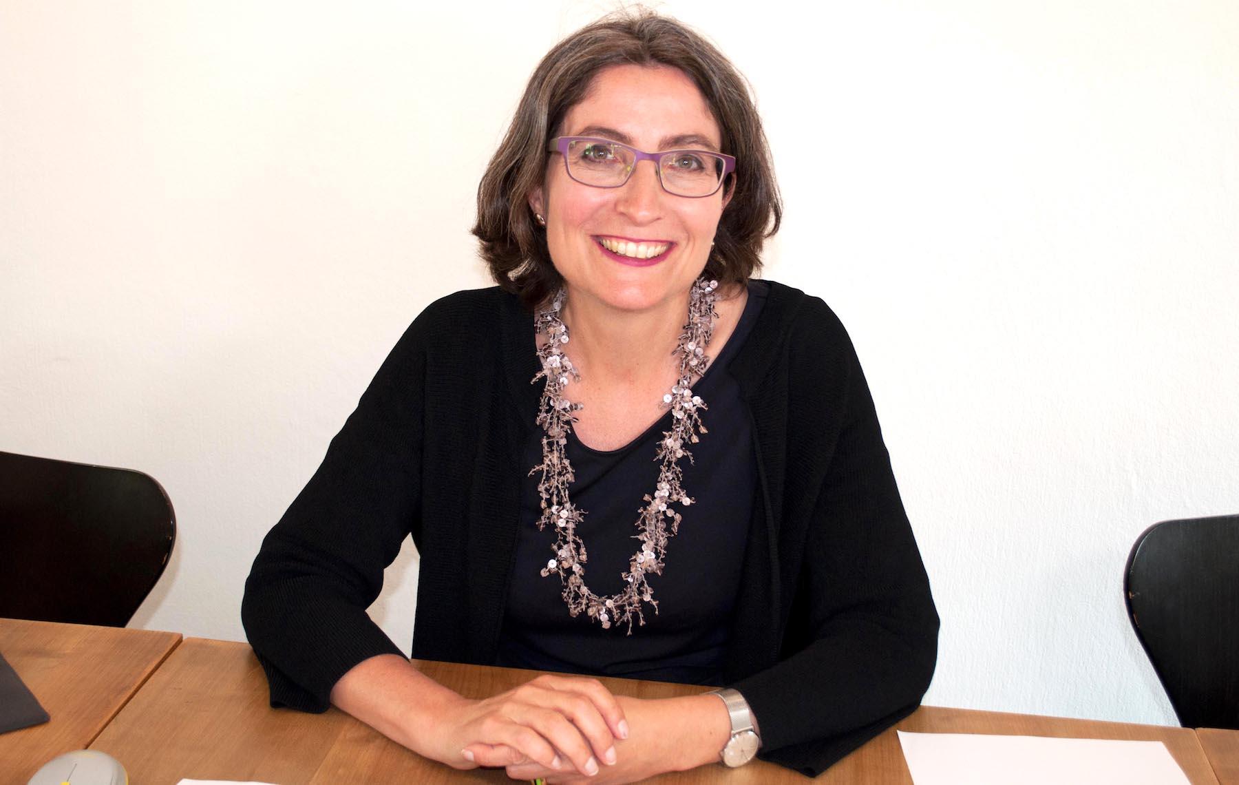 Zwischen wehmütig und erleichtert: Frau Landammann Manuela Weichelt-Picard, bei der Bekanntgabe ihres Verzichts auf eine Wiederwahl.