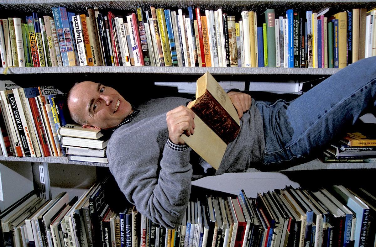 Der Bücker-Brocky-Gründer Clemens Ribler in einer Aufnahme aus dem Jahre 2003.