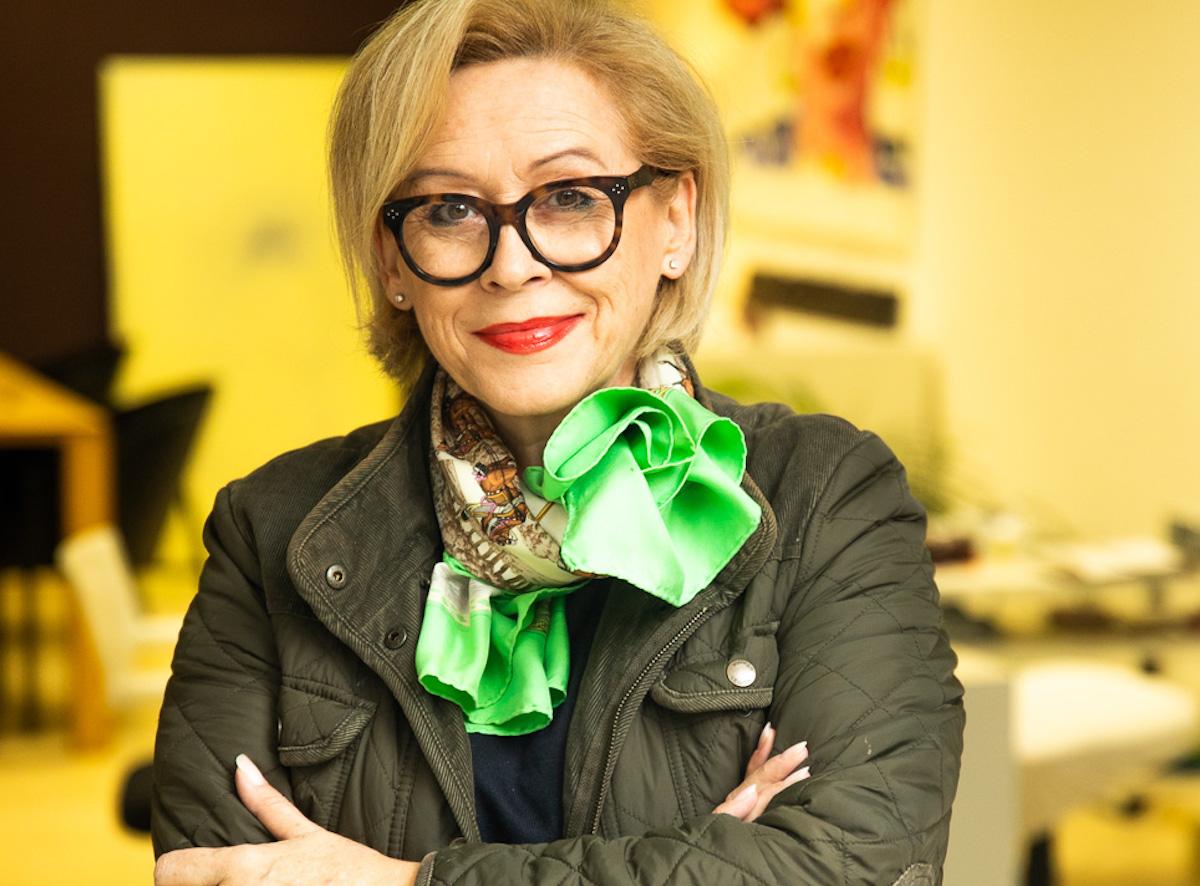 Raumstylistin: Hildegard Moser (63).