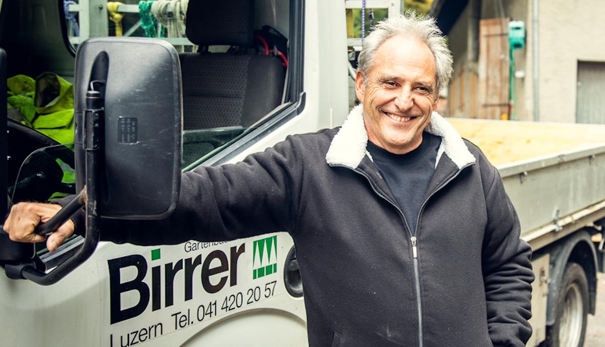 Gärtner: Jörg Birrer (60).