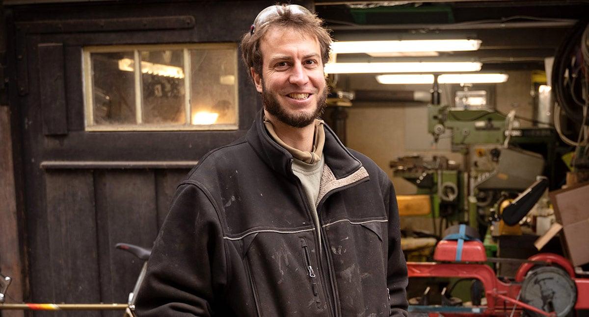 Metallbauer: Gregor Stritt (36).