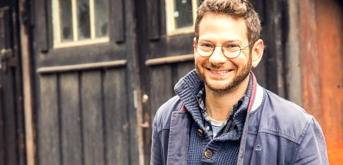Holzdesigner: Christoph Steiger (34).