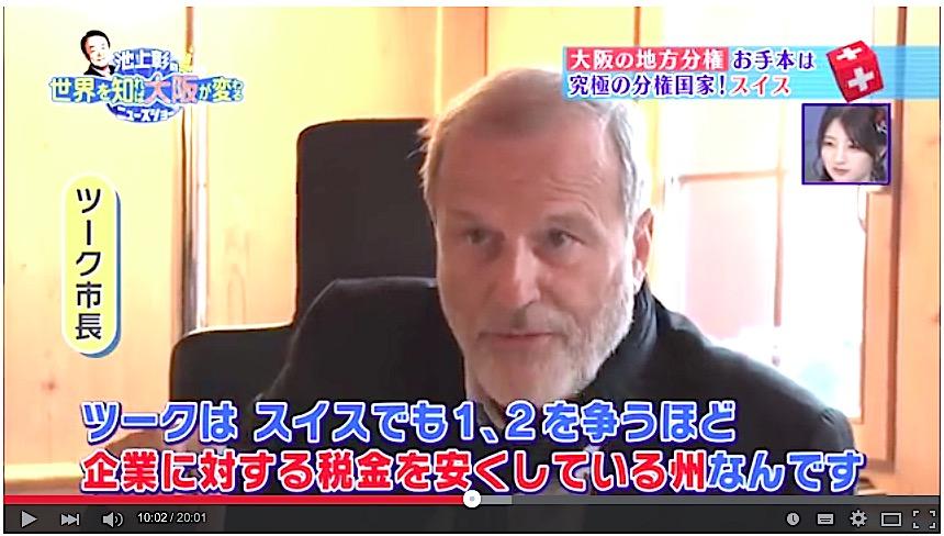 Sogar ins japanische Fernsehen schaffte es Dolfi Müller vor wenigen Jahren. Der Grund: Zug als erfolgreicher Wirtschaftsplatz.