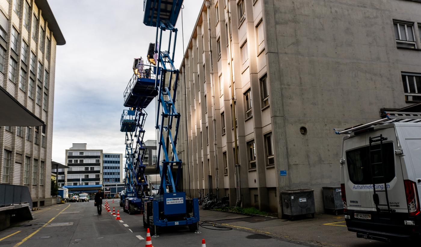 Schauplatz der Luzerner Ermittler: In der Viscosistadt wurde am Freitag eine Szene für den neuen «Tatort» gedreht.